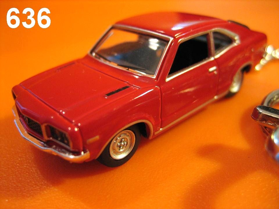 Classic Mazda Savanna RX-3 (Red) Die-cast Key Chain